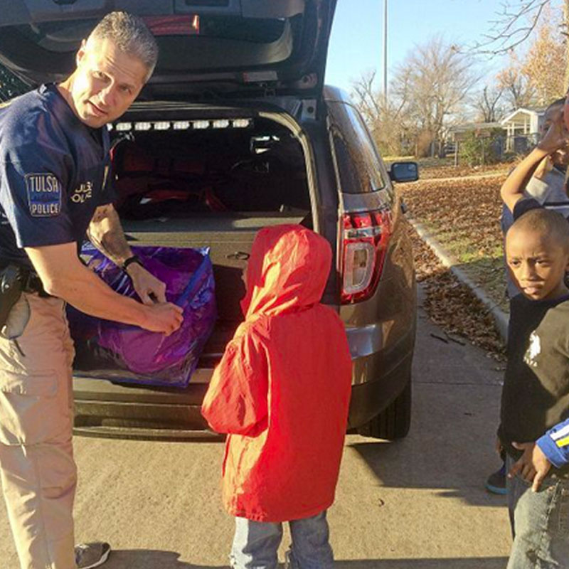 Organized Gang Unit to Donate Over 200 Coats