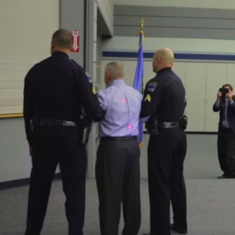 TPD Foundation Board Chairman Tasered for a Good Cause