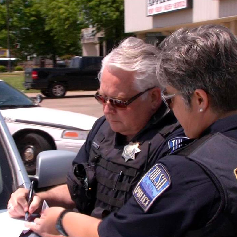 TPD Reserve Says Volunteering Is Way to Give Back