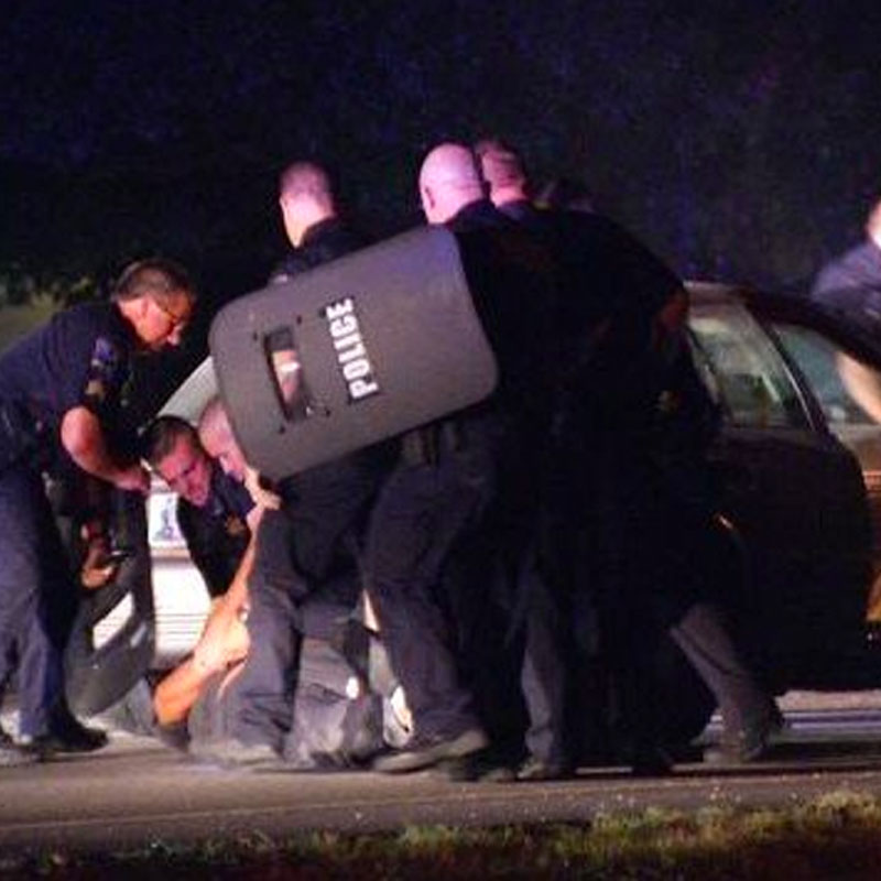TPD Officers Use Tasers to End Standoff