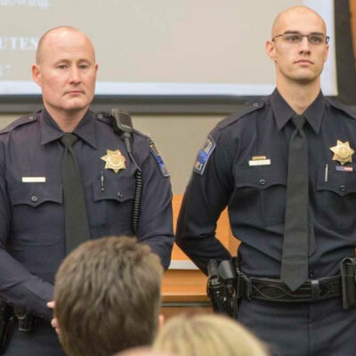 TPD Officers Honored for Heroism