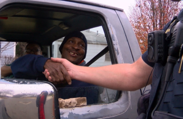 TPD Officers Give Gifts, Not Tickets