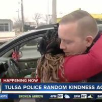 TPD conducts random acts of kindness during traffic stops