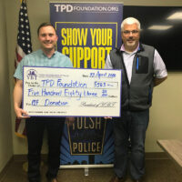 Young Businessmen of Tulsa Support TPD Foundation