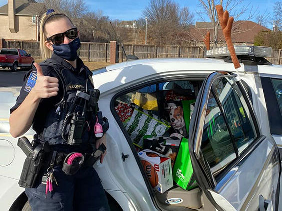 Car full of Toys for Random Acts of Kindness