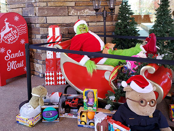 Toy drive at the Gathering Place during Random Acts of Kindness